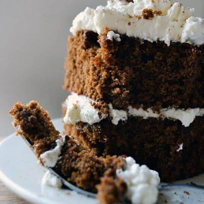 the BEST Gingerbread cake recipe