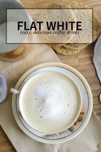 The flat white is a delicious coffee beverage popular in Australia, New Zealand, and South Africa. #coffee