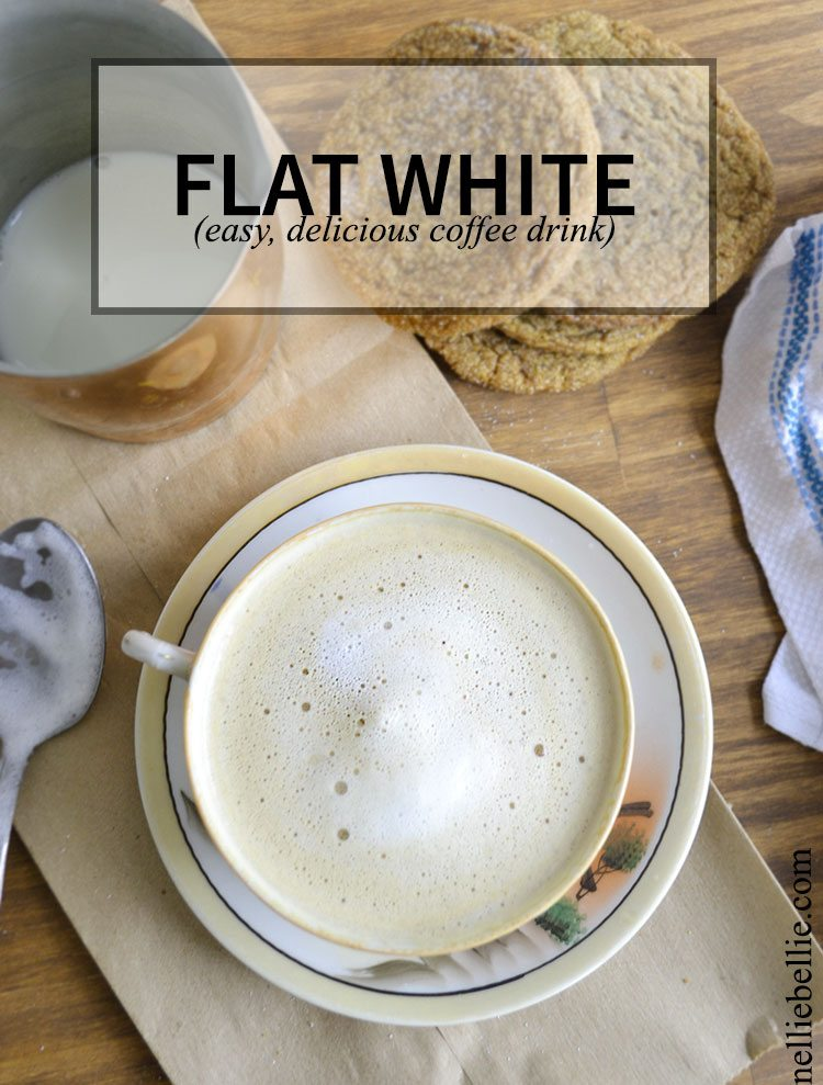 The flat white is a delicious coffee beverage popular in Australia, New Zealand, and South Africa.