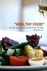 """Why we believe in eating """"bad for you food"""". 