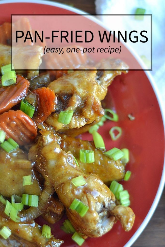 Make wings in pan for a one-pot, easy meal   nelliebellie.com