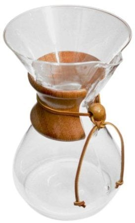 The chemex is a great way to make coffee for drinking black | 5 ways to make coffee