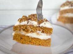 the BEST homemade carrot cake from scratch recipe!