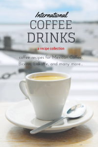 A collection of delicious international coffee drinks including full easy recipes. Yum! |nelliebellie.com