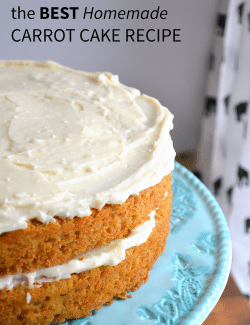 Homemade Carrot Cake Nutrition Facts