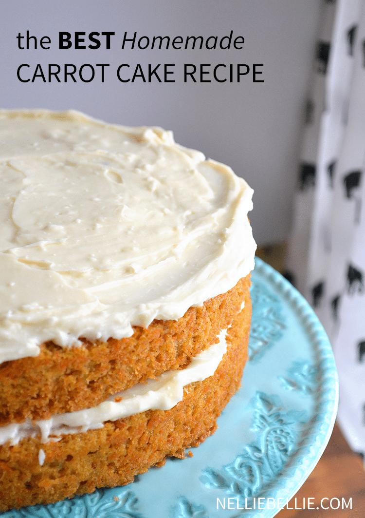 Storing Carrot Cake