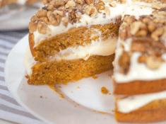 the best homemade carrot cake from scratch recipe! Grandma's recipe!