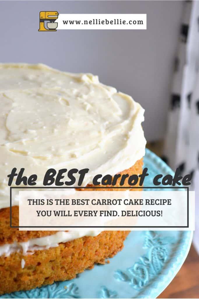 The best classic carrot cake recipe.