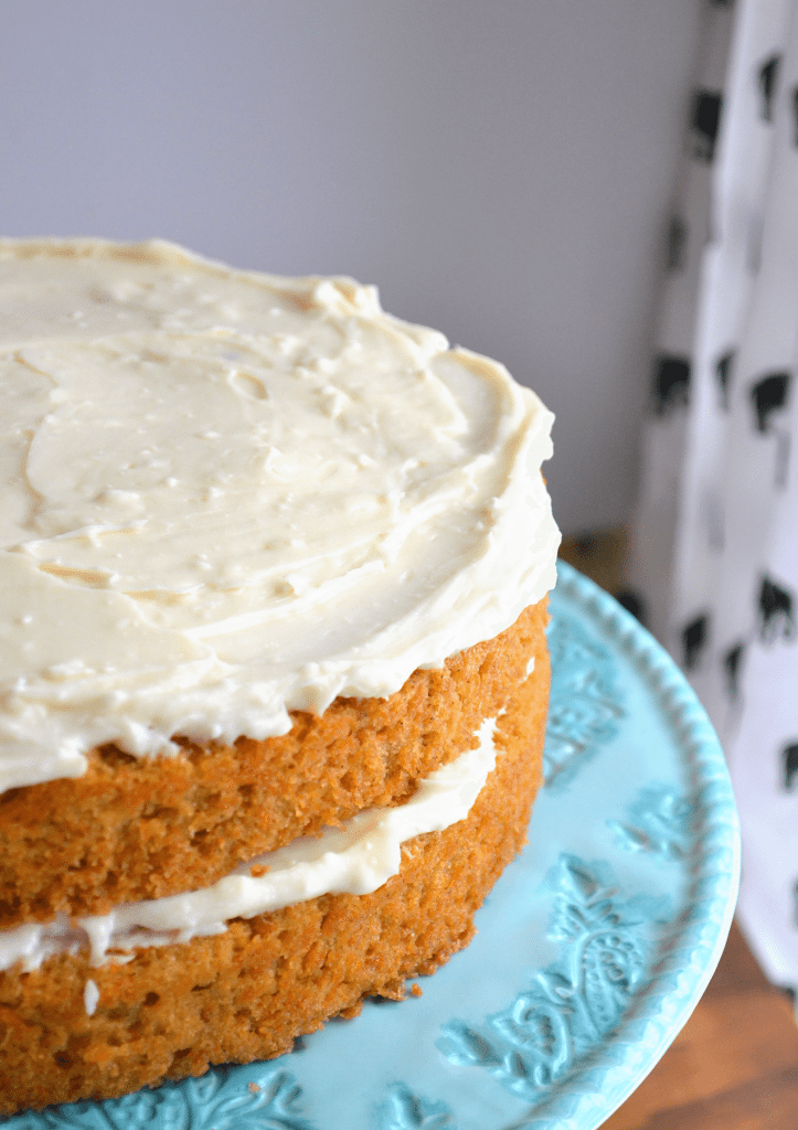 recipe for carrot cake from scratch
