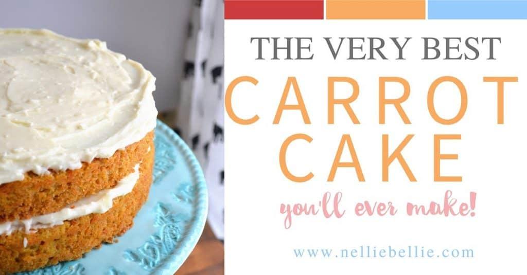 The Best Homemade Carrot Cake Easy Carrot Cake Recipe