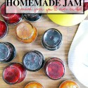 make homemade jam with only 2 ingredients and 2 steps. Easy to make! | nelliebellie.com