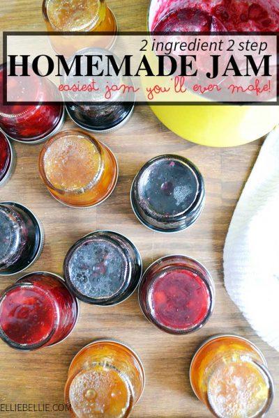 2 ingredient homemade jam
