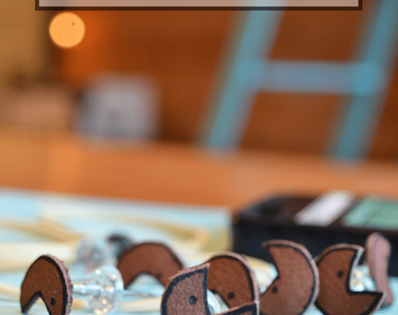 Leather pushpins are easy to make, easy to customizable and a fun gift idea!