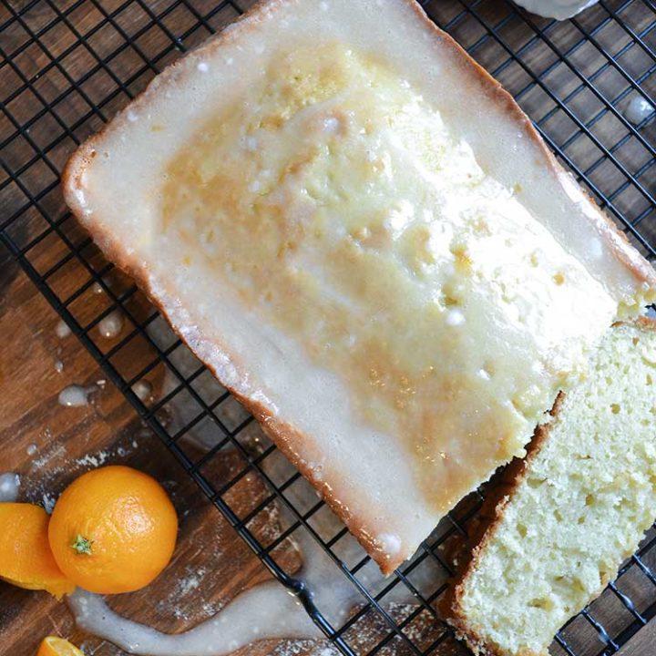 an easy recipe for homemade pound cake with orange glaze. cake, recipes, homemade, pound cake   nelliebellie.com