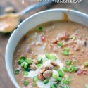 easy, homemade African Peanut soup