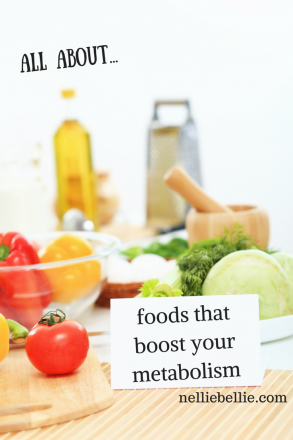 all about foods that boost your metabolism. Choose foods that HELP you lose weight! nelliebellie.com food for metabolism