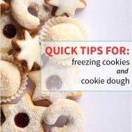 How to freeze cookies