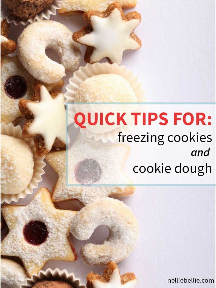 Freezing Cookies | Freezing Cookie Dough | from NellieBellie