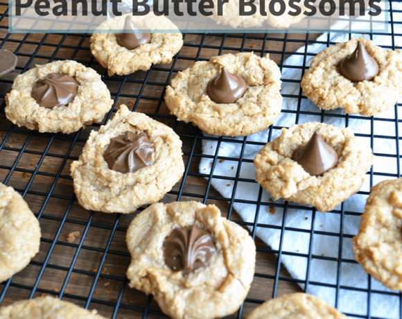 gluten-free peanut butter blossoms are simple and delicious. They have just a few ingredients, and are great for everyone.