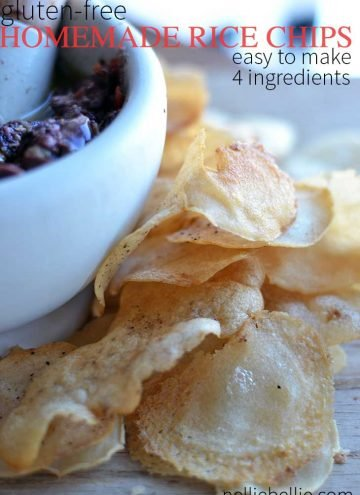 easy gluten-free Rice chips