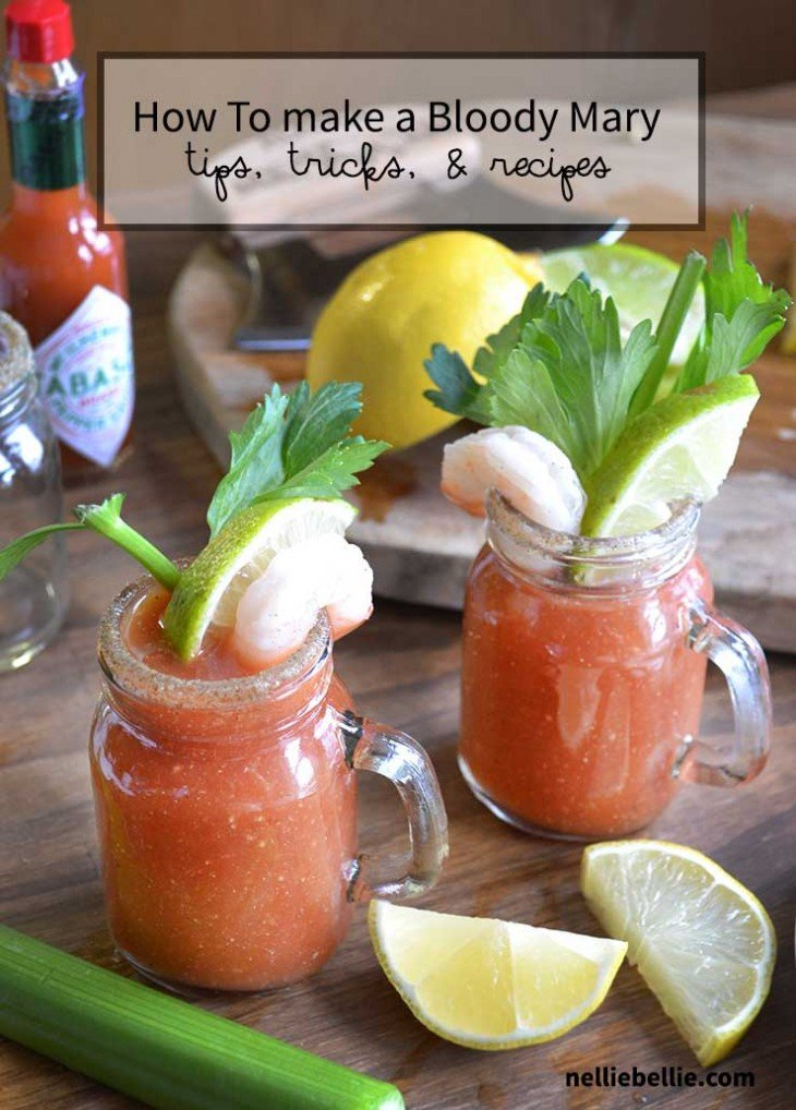 How to make a bloody mary | basic recipe for bloody mary's