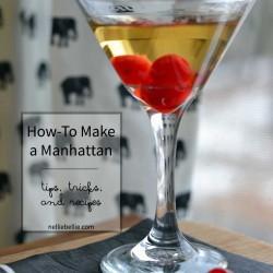 How to make a Manhattan | a basic Manhattan recipe