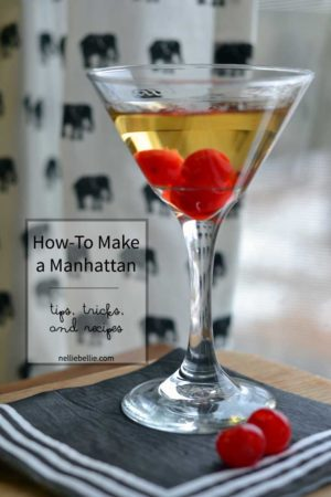 How to make a Manhattan   a basic Manhattan recipe