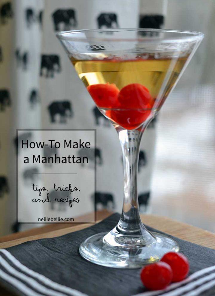 Manhattan Recipe and Old-Fashioned Recipe