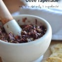 easy Olive Tapenade recipe | only 5 ingredients!