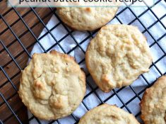 the BEST classic peanut butter cookie recipe from nelliebellie.com peanut butter cookies, classic cookies, peanut butter recipes