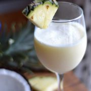 How to make a classic pina colada. An easy, basic recipe that is the start of the best pina colada classic cocktail.