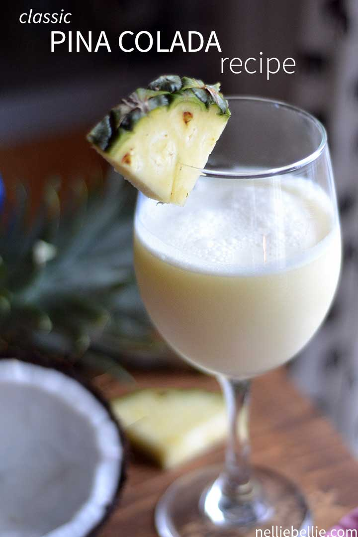 Best pina colada recipe a how to from nelliebellie for Classic starter recipes