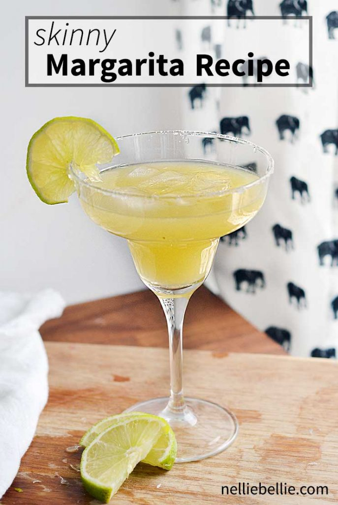 How to make a skinny margarita | an easy skinny margarita recipe along with extra recipes, tips, and tricks.