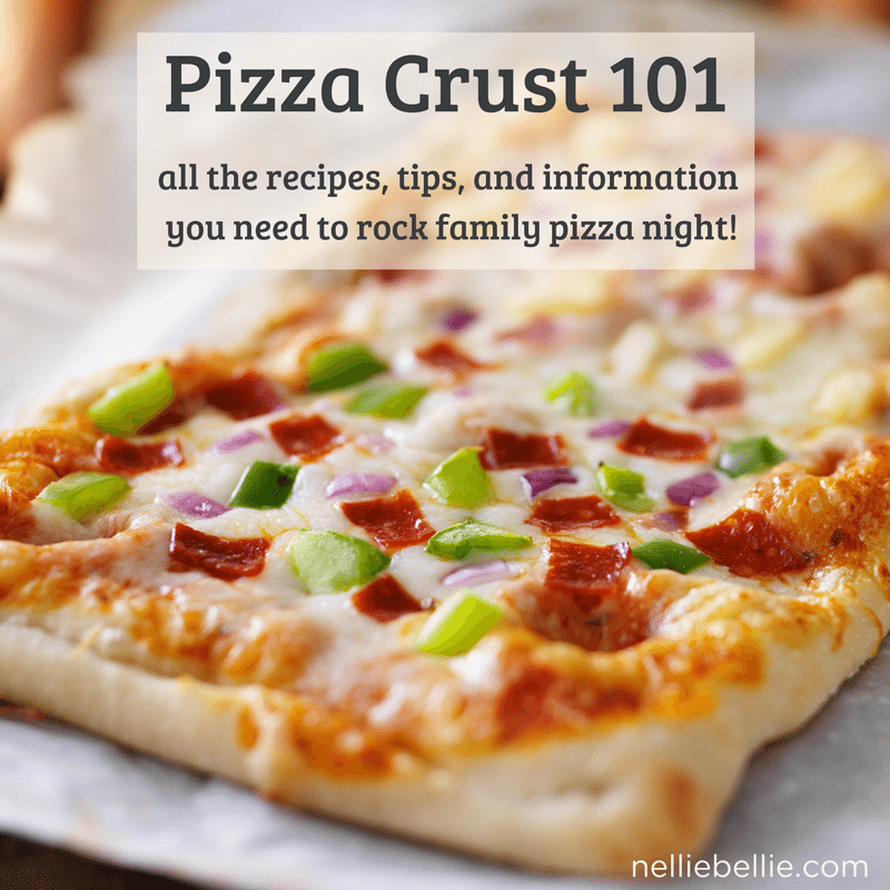 With homemade pizza crust recipes, as well as tips and tricks to making crust well, you will be rocking family pizza night in no time!