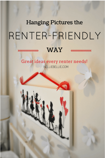 Picture Hanging Ideas for Rentals and Apartments