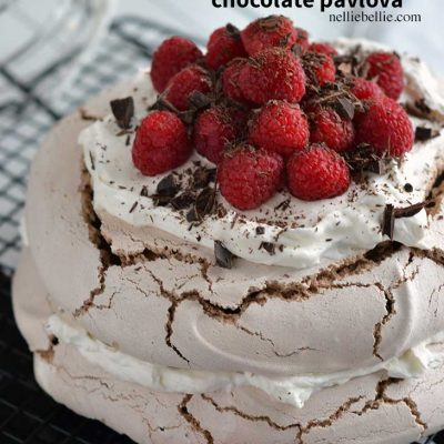 homemade chocolate pavlova recipe