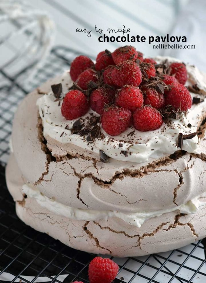 easy Chocolate pavlova recipe