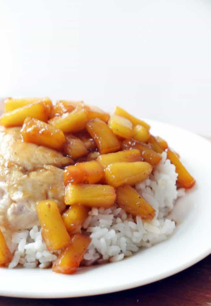 fast & easy One-Pot Hawaiian Chicken