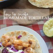 How to make homemade tortillas with tips, tricks, and recipes. From nelliebellie.com