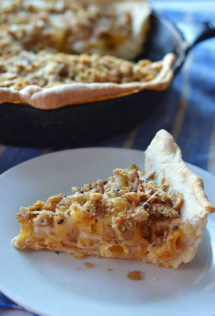 macaroni and cheese pizza is a fun twist on a favorite! A great pizza ...