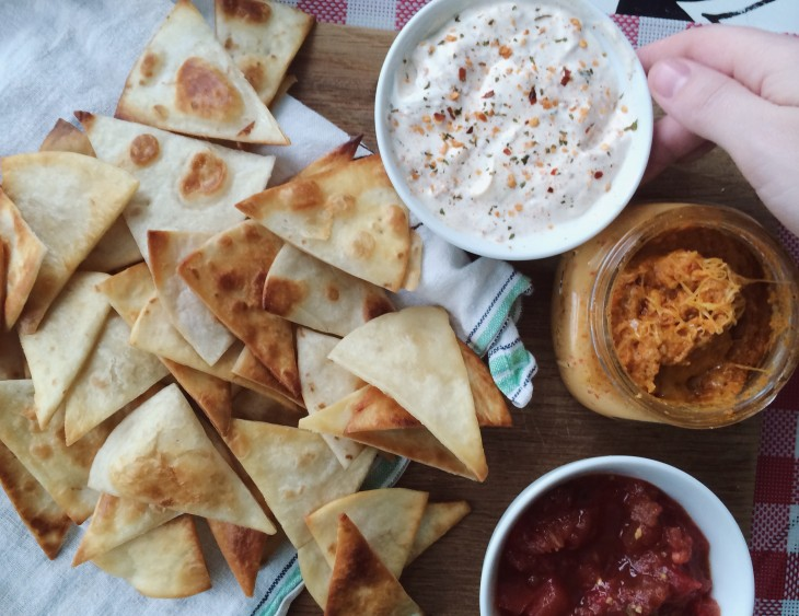 make your own tortilla chips at home!