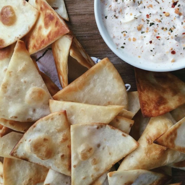 Make your own tortilla chips at home. Easy tips, tricks, and tutorial from nelliebellie.com