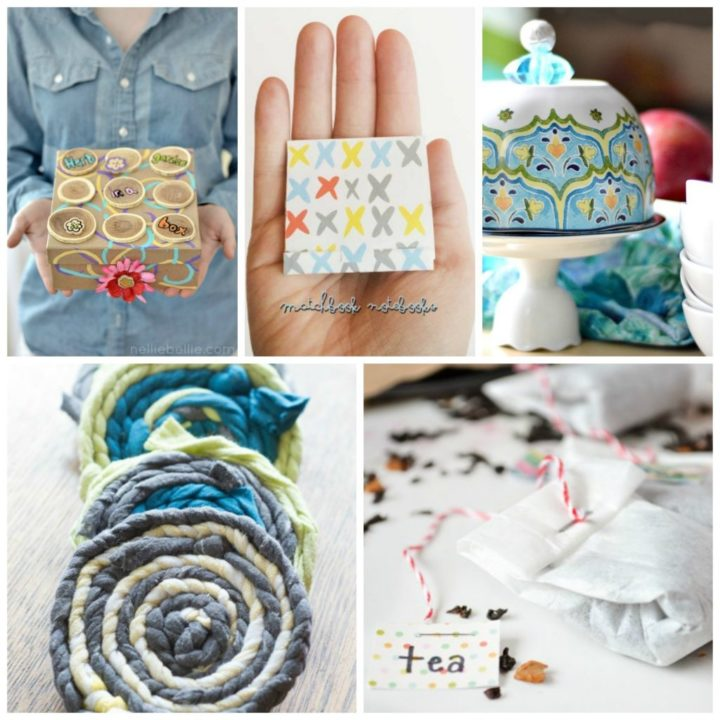 These 5 simple ideas make great Mother Day Crafts, either to create along with children or to make as an adult to thank a wonderful mother.