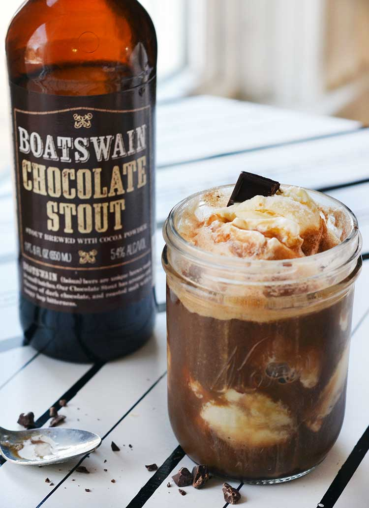 Chocolate stout float is easy to make and delicious! A great adult ...