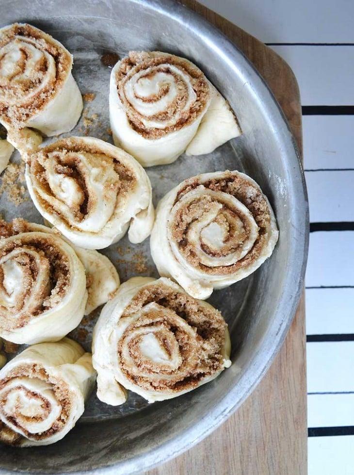 fast and easy cinnamon rolls