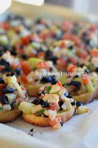 two easy olive appetizer recipes