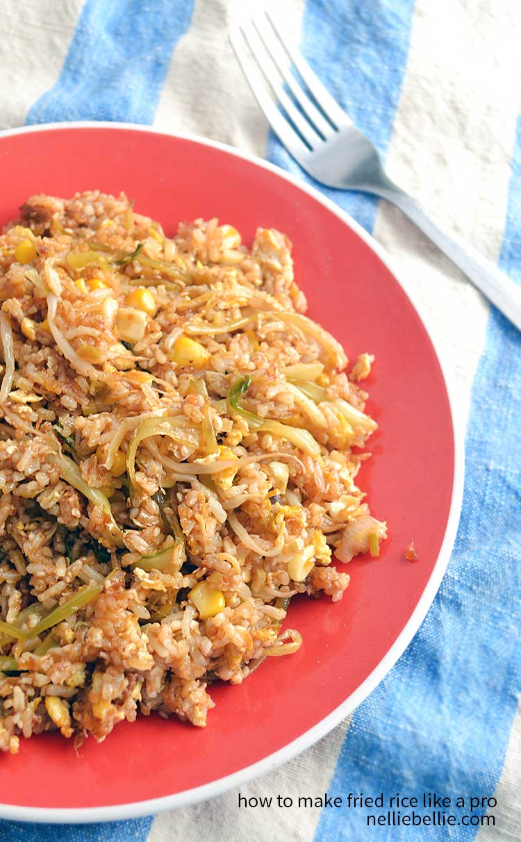 How to make fried rice nelliebellies kitchen how to make fried rice like a boss ccuart Choice Image