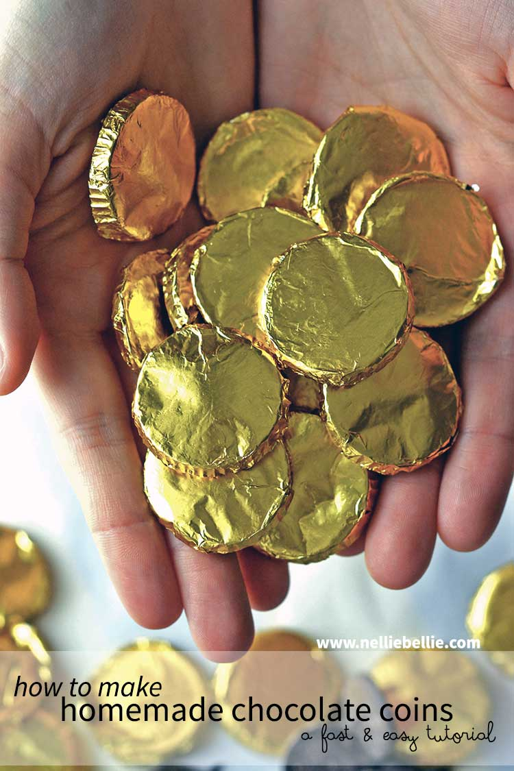 Chocolate Coins, a homemade recipe from NellieBellie