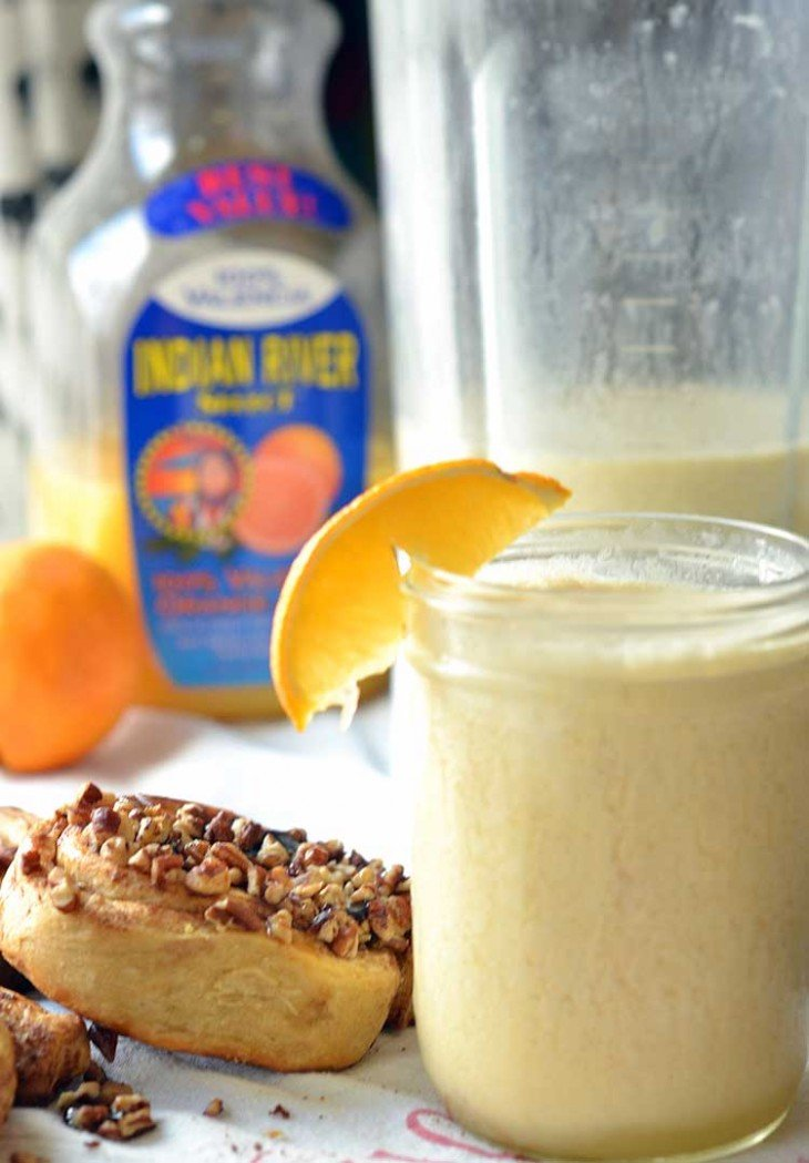 Orange Julius recipe that is almost as good as the original at much faster and easier! #Warmupyourday #ad