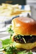 easy veggie burger recipe. Gluten-free veggie burger!